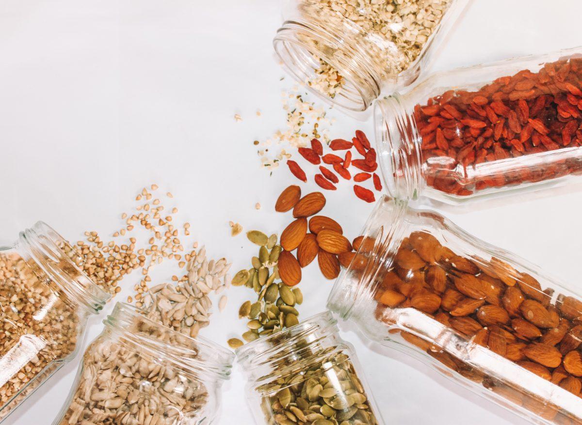 Крупы и орехи, рекомендуемые к употреблению